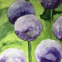 Blumen in lila_1